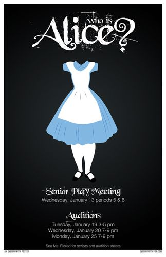 CCS Alice in Wonderland Auditions