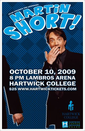 Martin Short at Hartwick College