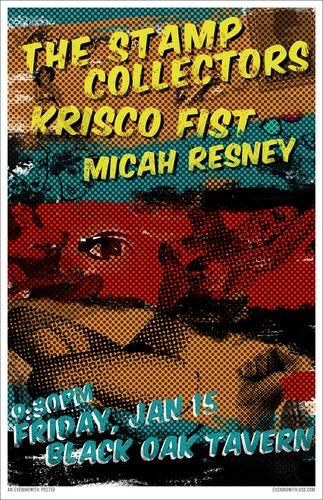 StampCo, Krisco Fist, Micah Resney at the Black Oak