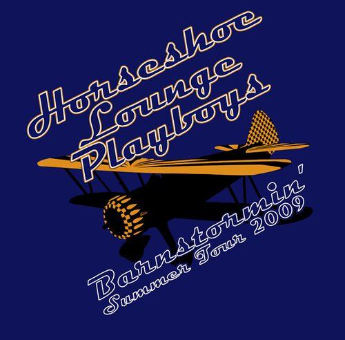 Horseshoe Lounge Playboys Barnstormin' t-shirt