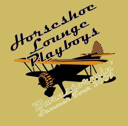 Horseshoe Lounge Playboys Barnstormin' t-shirt (alternate)