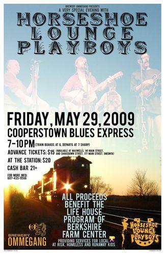 Horseshoe Lounge Playboys 05.29.09 Blues Train