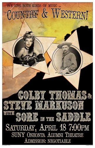 Thomas & Markuson w/ Sore in the Saddle 04.18.09