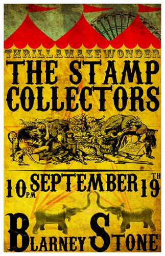 The Stamp Collectors 09.10.08 Blarney Stone