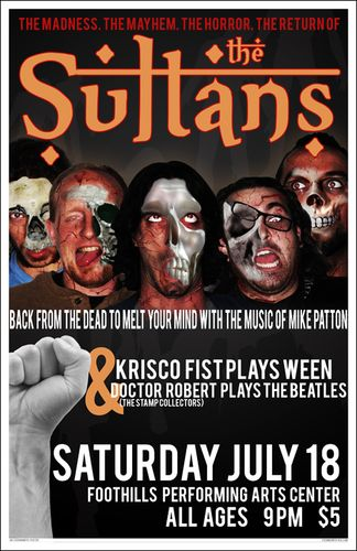 Sultans, Foothills 07.18.09