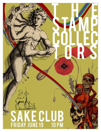 The Stamp Collectors at Sake Club 06/19