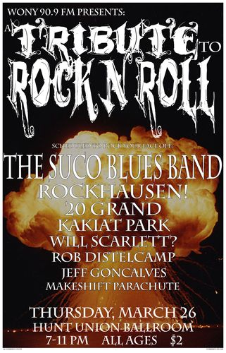 WONY Rock Tribute